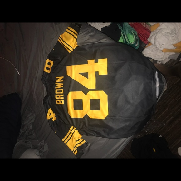 online store 7860d 77842 Antonio Brown T-shirt Color Rush Jersey NWT